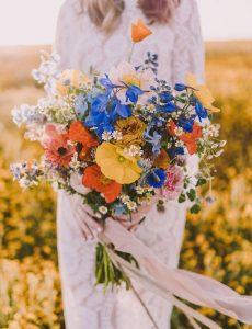 bouquet da sposa fiori di stagione