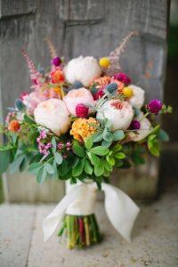 bouquet da sposa colori e forma