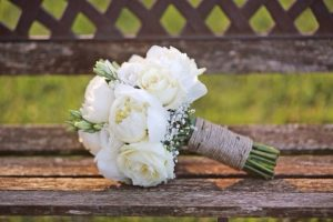 bouquet da sposa piccolo e tondo