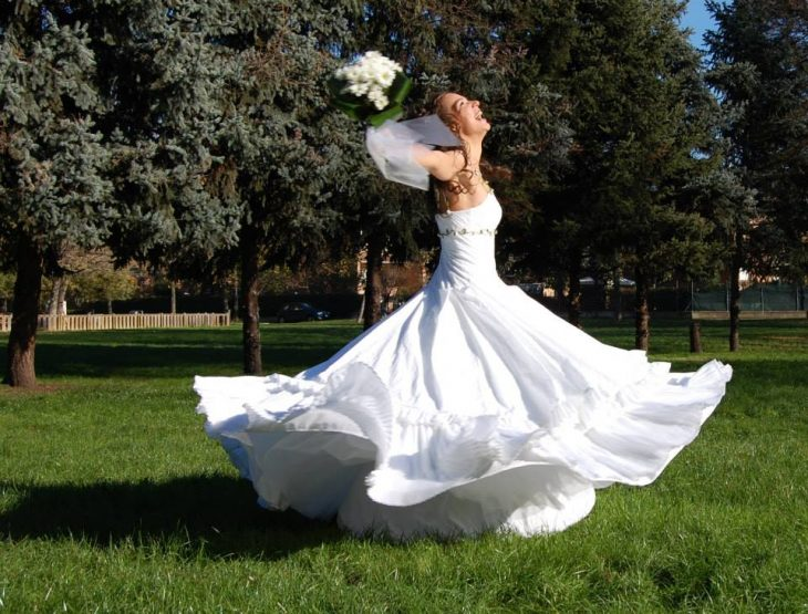 Abito da sposa  come scegliere quello giusto per le tue nozze green 77f421122c3