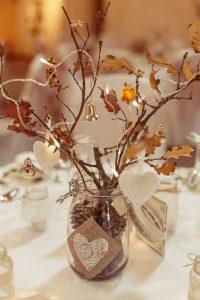 centrotavola matrimonio fai da te autunno