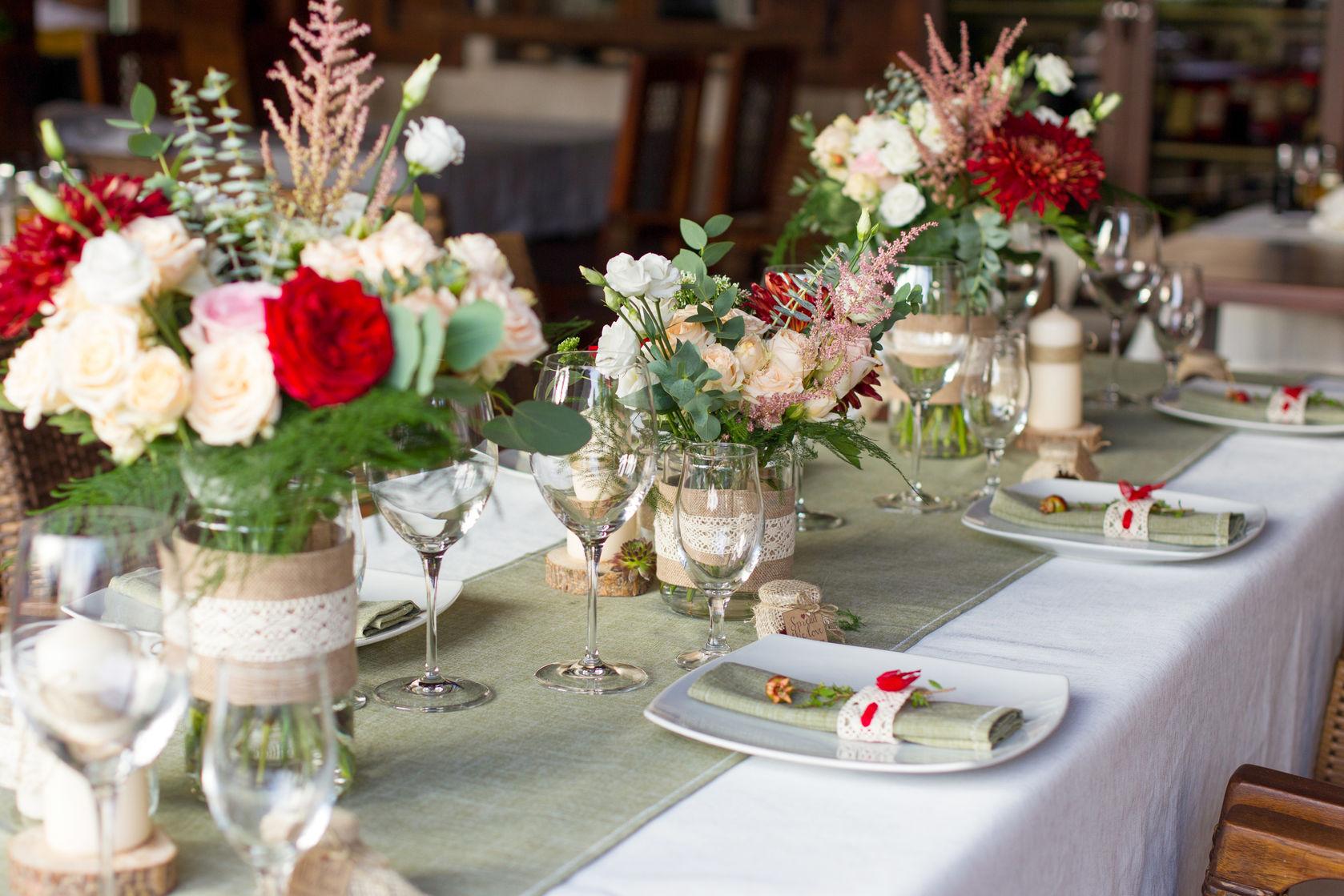 7e0891575560 Centrotavola matrimonio fai da te  le 10 idee più belle